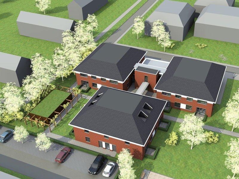 IBOC constructie 24 woningen woonzorgcomplex Schoppers constructie advies