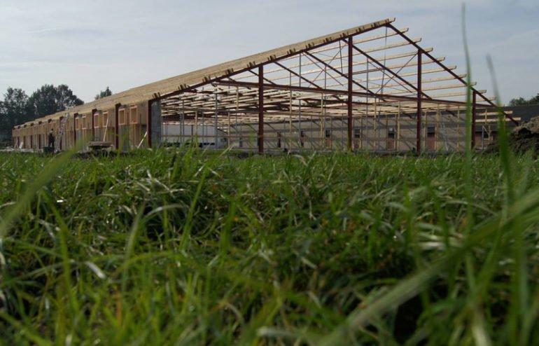 IBOC constructie verbouw varkensstal Schoppers construtie advies