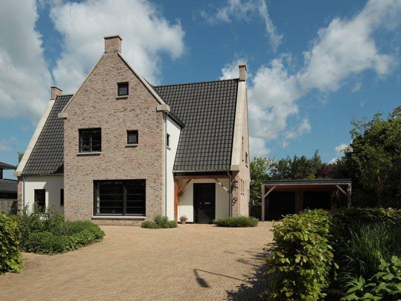 IBOC woonhuis Engelse stijl Rinke ter Haar architectuur